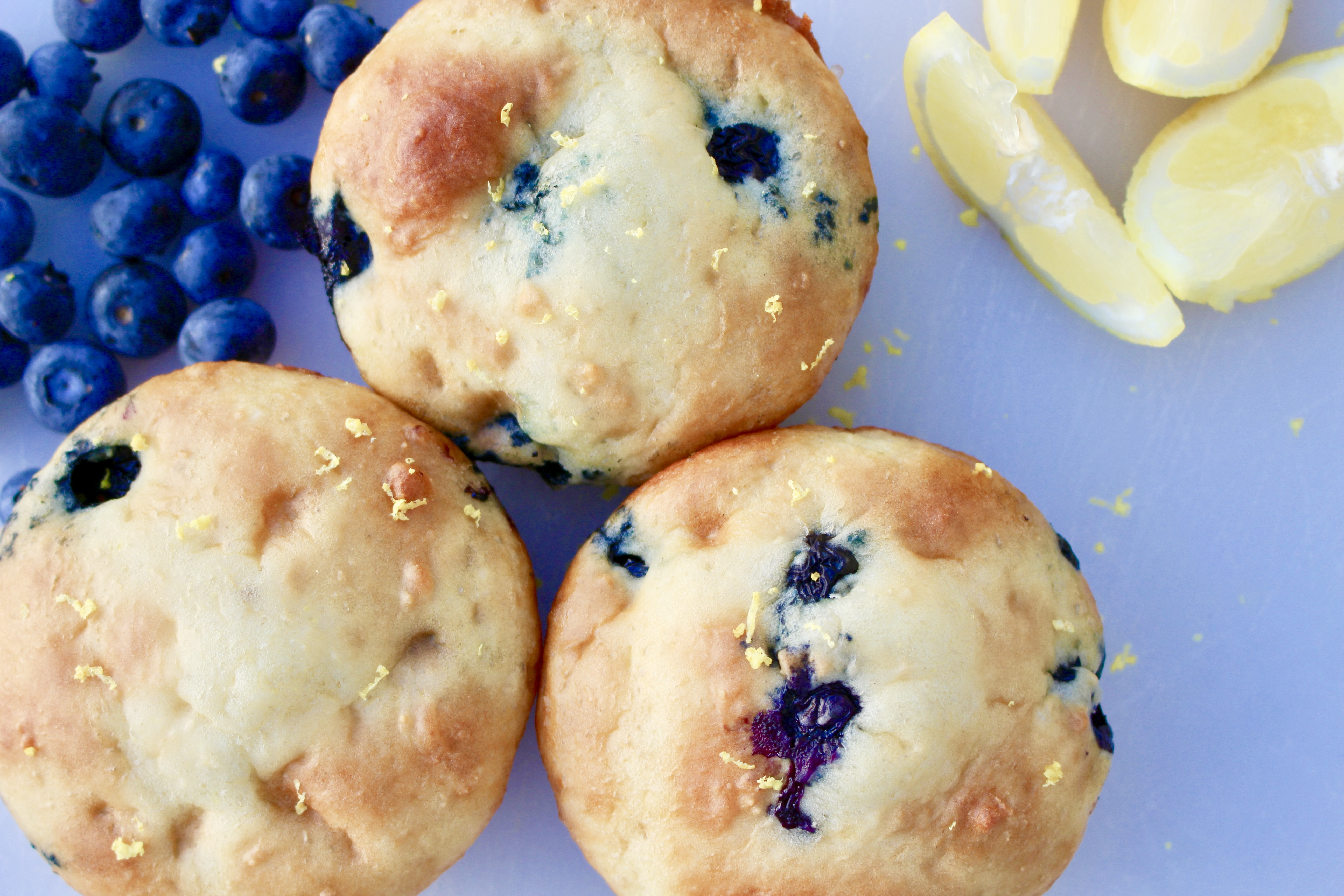 Blueberry Lemon Muffins